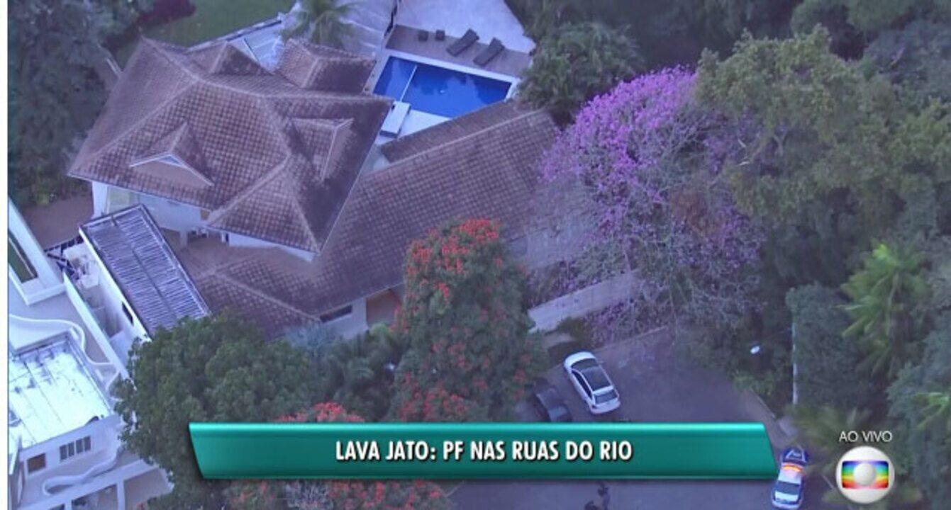 Polícia Federal realiza nova fase da Operação Lava-Jato no Rio de Janeiro