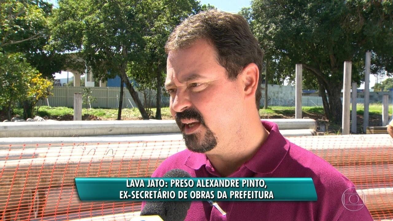 Ex-secretário de obras do Rio é preso na Operação Rio 40 graus