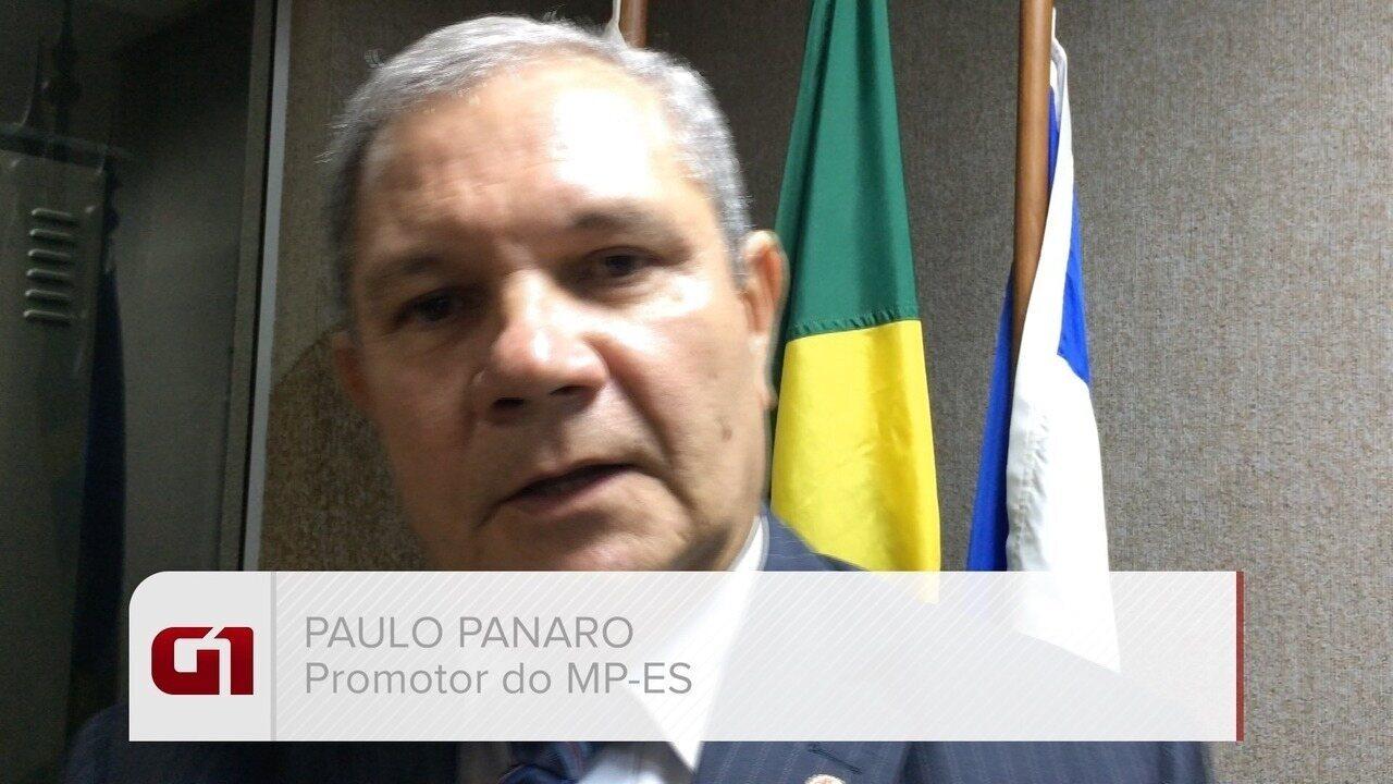 Promotor do MP-ES Paulo Panaro fala das investigações das mortes da crise no ES