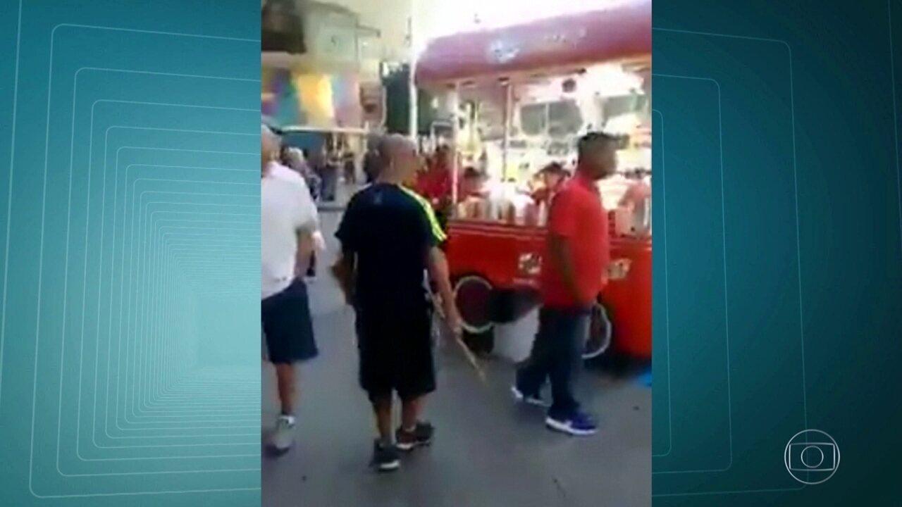 Refugiado sírio é atacado enquanto trabalhava em Copacabana