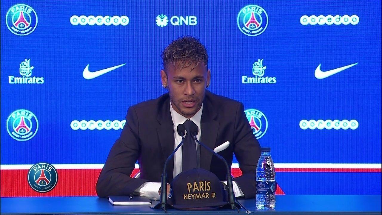 Neymar, sobre o dinheiro ter sido fundamental para mudança:
