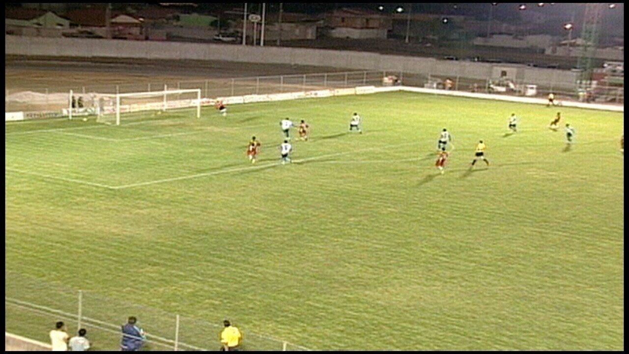 Os gols de Jaguaré 3 x 0 CTE Colatina, pela Copa Espírito Santo 2007