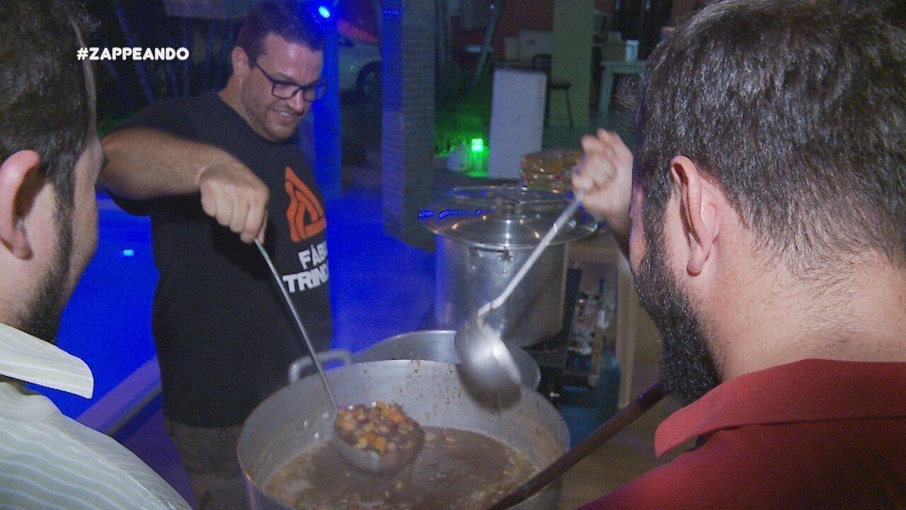 Parte 1: Programa começa acompanhando um projeto que distribui sopa em Manaus