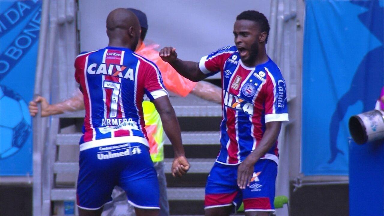 Melhores momentos de Bahia 2 x 1 São Paulo pela 19º rodada do Brasileirão 2017