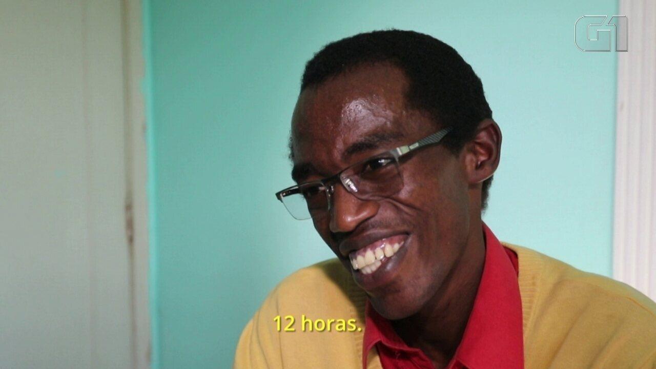 Refugiado do Burundi arrecada R$ 14 mil para transplante de rim no Brasil
