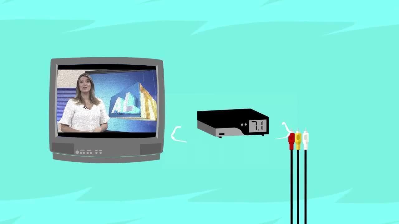 TV Gazeta AL exibe VT sobre o desligamento do sinal analógico