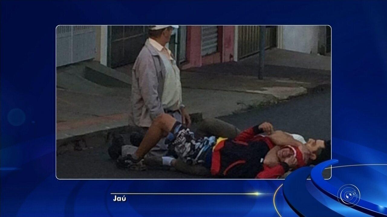 Ladrão é imobilizado durante assalto em Jaú