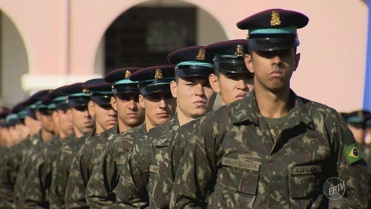 Procura por carreira militar cresce 240% em quatro anos na Escola de Cadetes, em Campinas