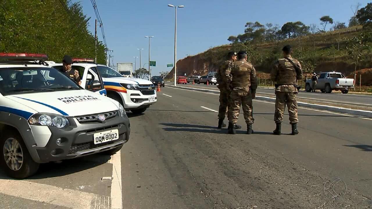 PM bloqueia entradas de Juiz de Fora para evitar acesso de criminosos do Rio de Janeiro