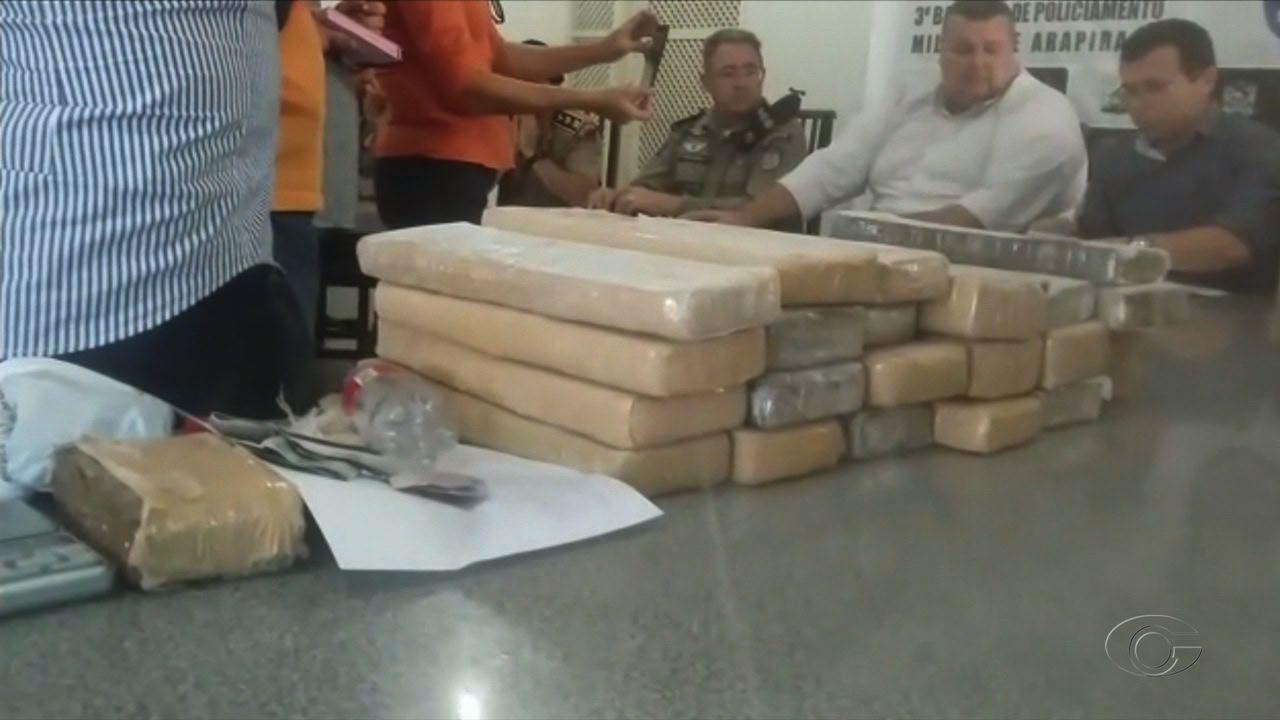 Operação prende 18 pessoas e apreende 22 kg de maconha em Arapiraca