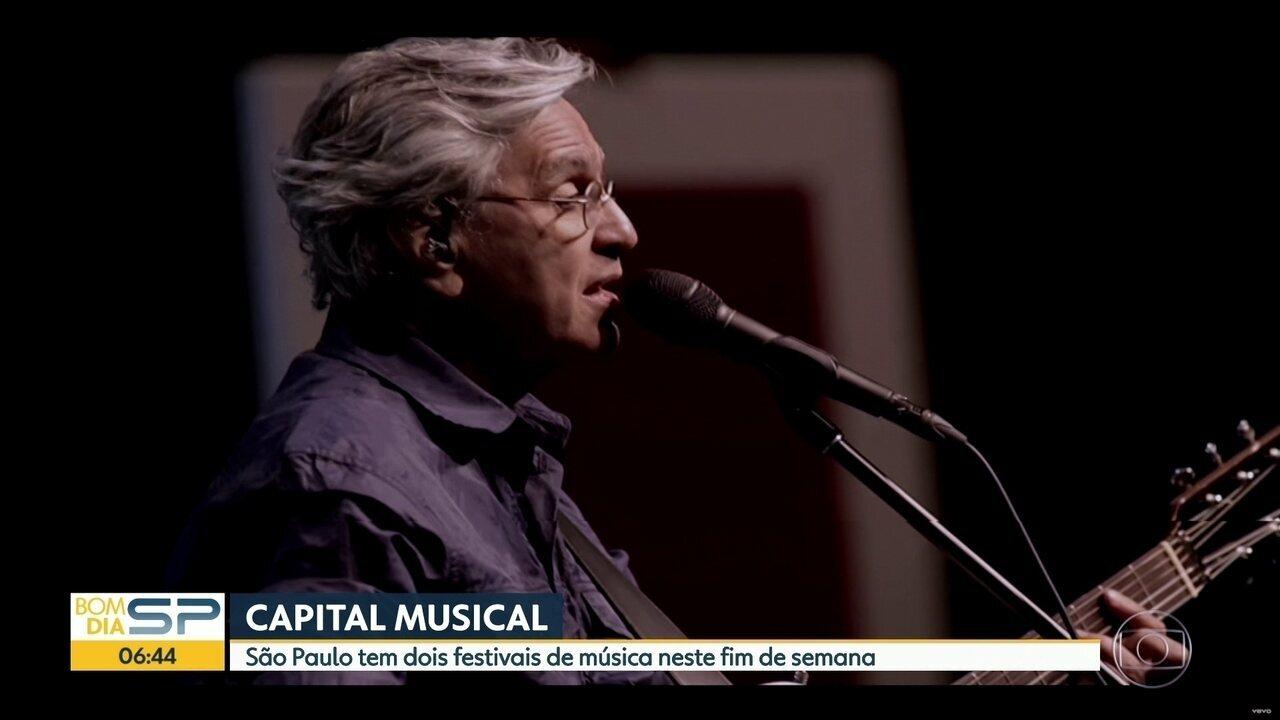 Caetano Veloso se apresenta no Coala Festival em SP