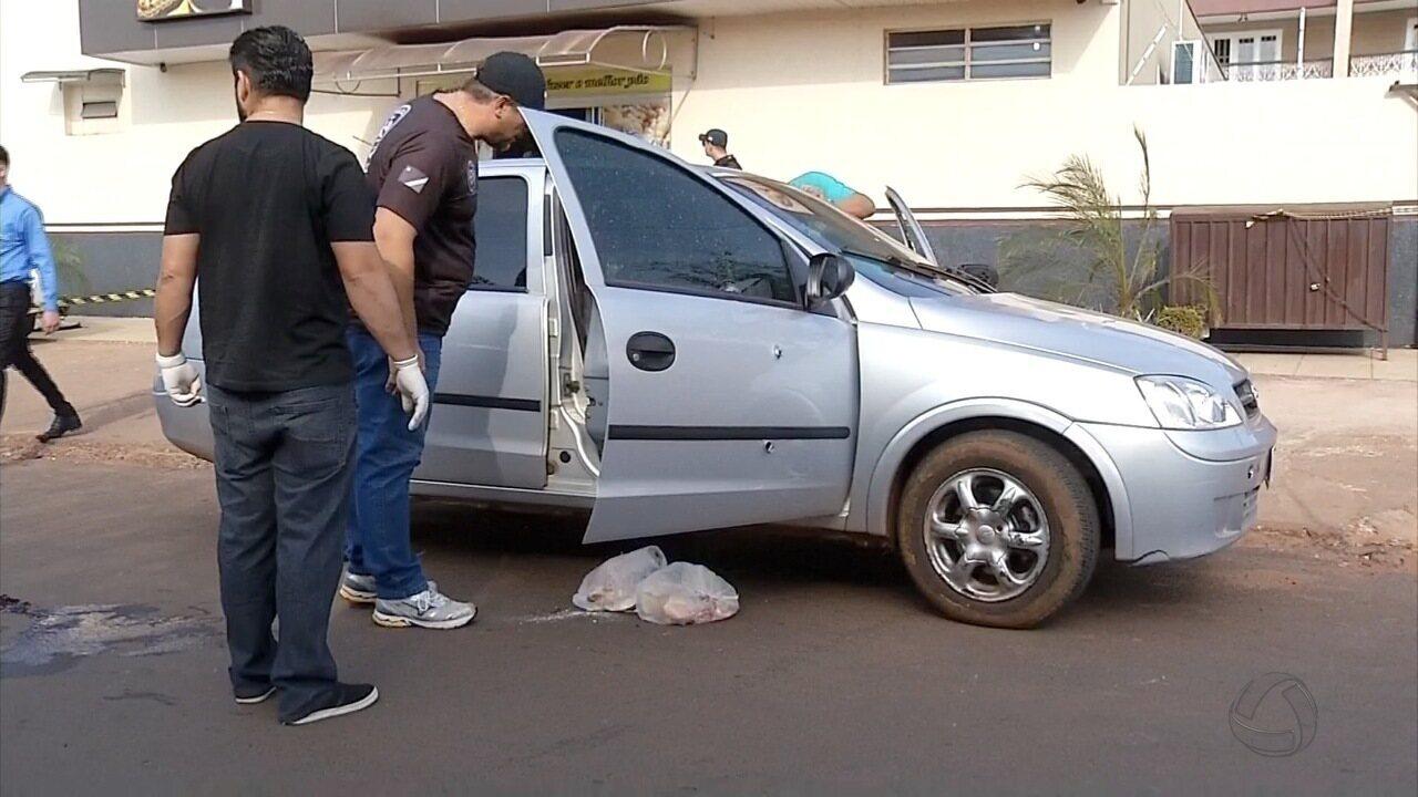 Rapaz é executado a tiros ao sair de padaria em Ponta Porã, MS