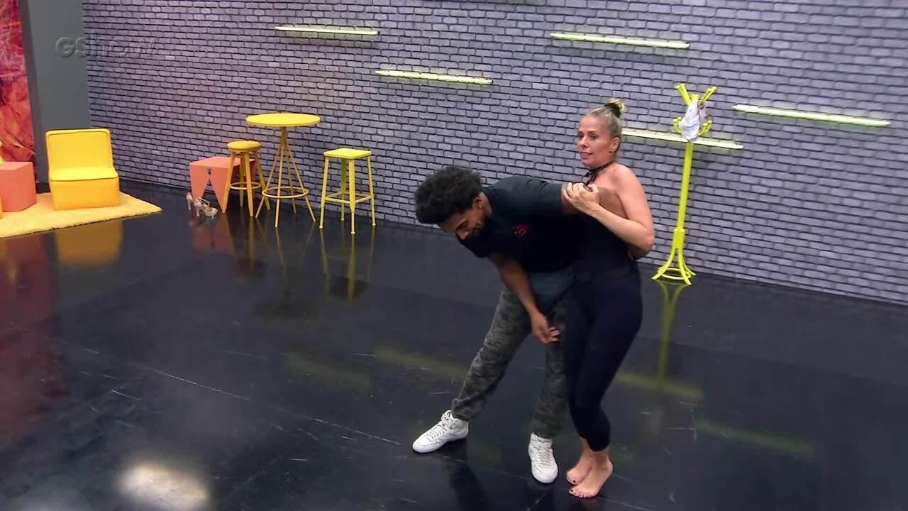 Veja como foi a primeira semana de ensaios de Adriane Galisteu no 'Dança dos Famosos'