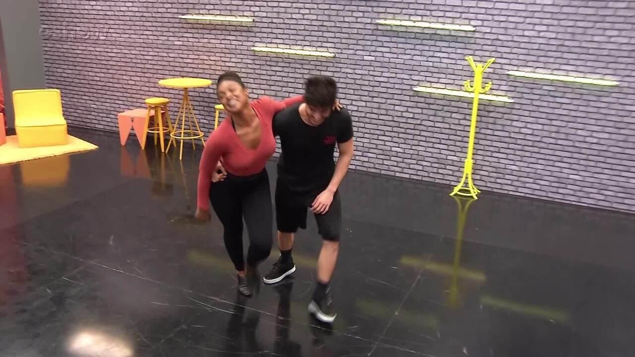 Veja como foi a primeira semana de ensaios de Cris Vianna no 'Dança dos Famosos'