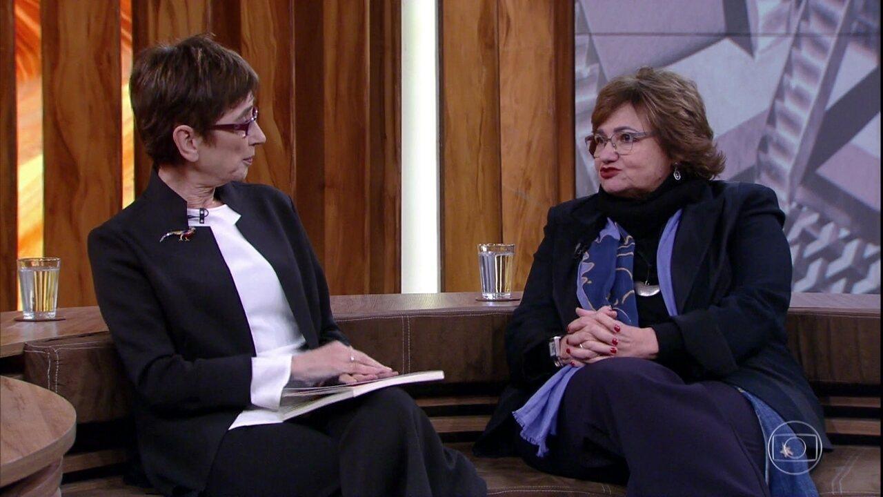 Pilar Del Río e Paloma Amado comentam amizade de Saramago e Jorge Amado