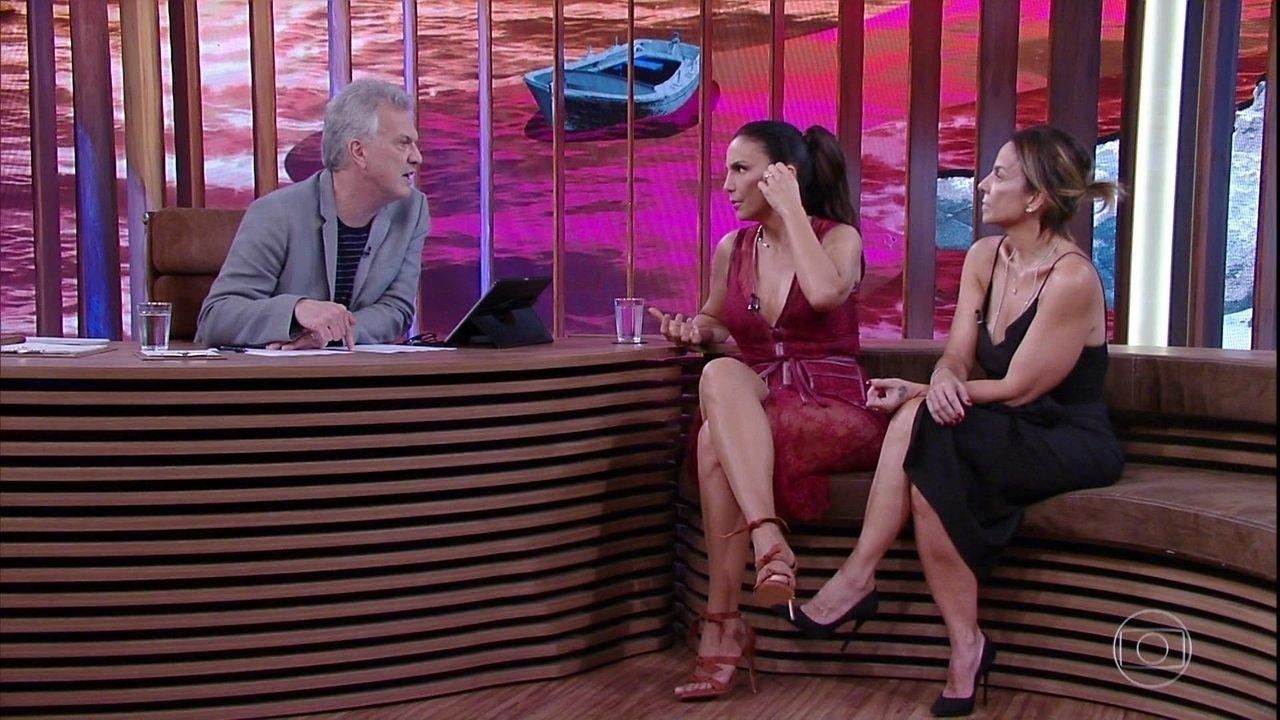Ivete Sangalo fala sobre a vocação musical do filho Marcelo