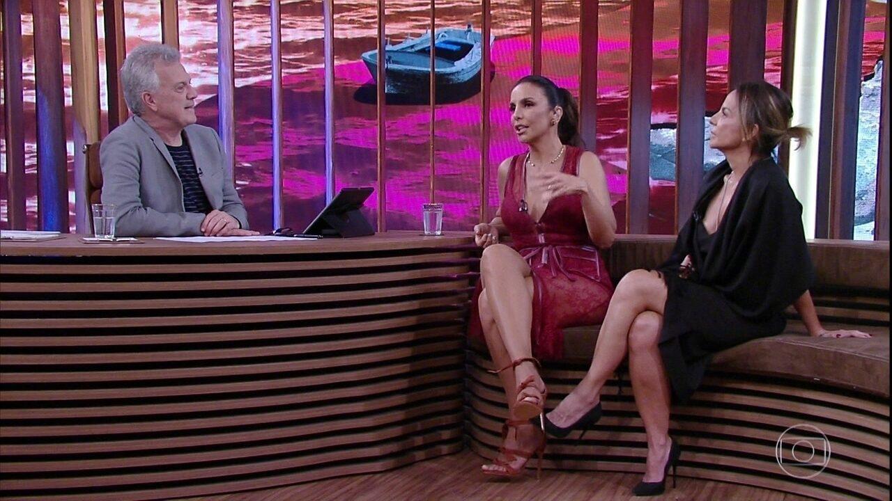 Ivete Sangalo explica como lida com os problemas