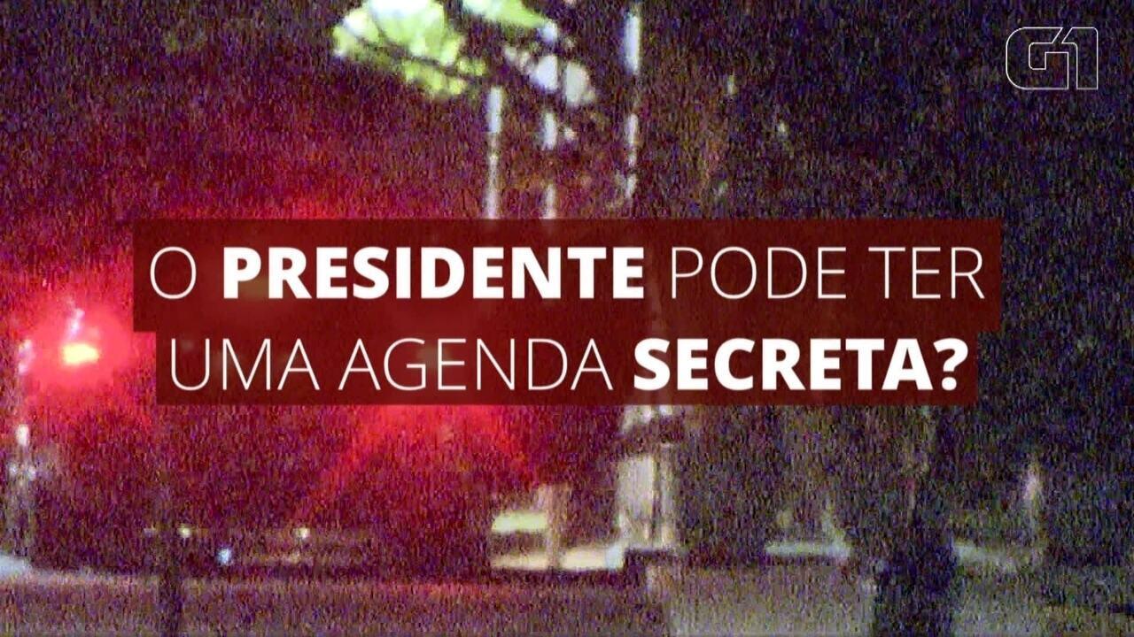 Saiba se o presidente da República pode ter uma agenda secreta