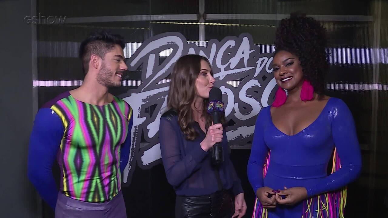 Cris Vianna fala sobre a estreia da Dança dos Famosos