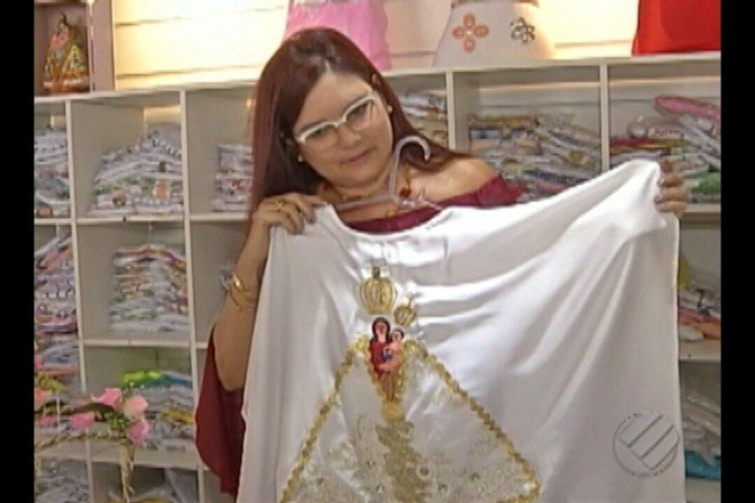 Fabricantes e vendedores de artigos religiosos já se preparam para faturar no Círio