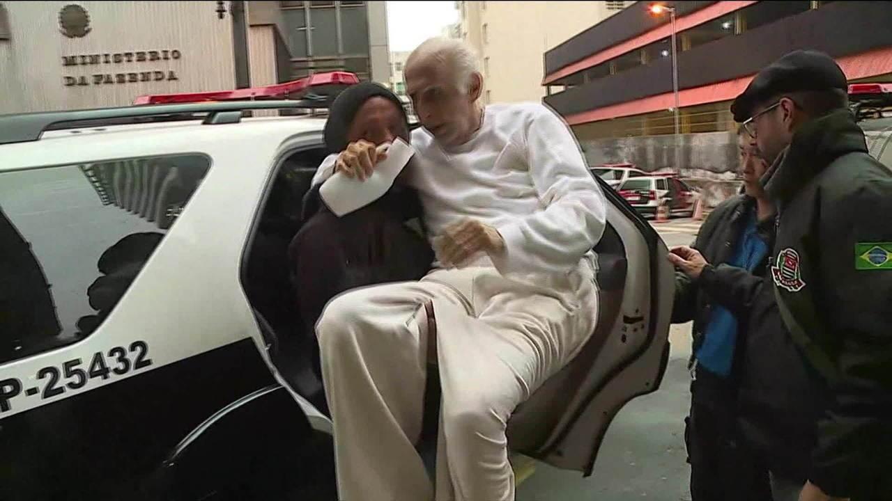 Roger Abdelmassih é levado à cadeia após Justiça revogar prisão domiciliar