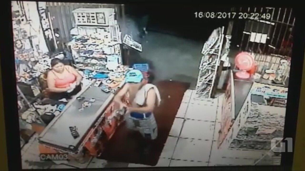 PM e assaltante trocam tiros em comércio roubado mais de 20 vezes em Manaus