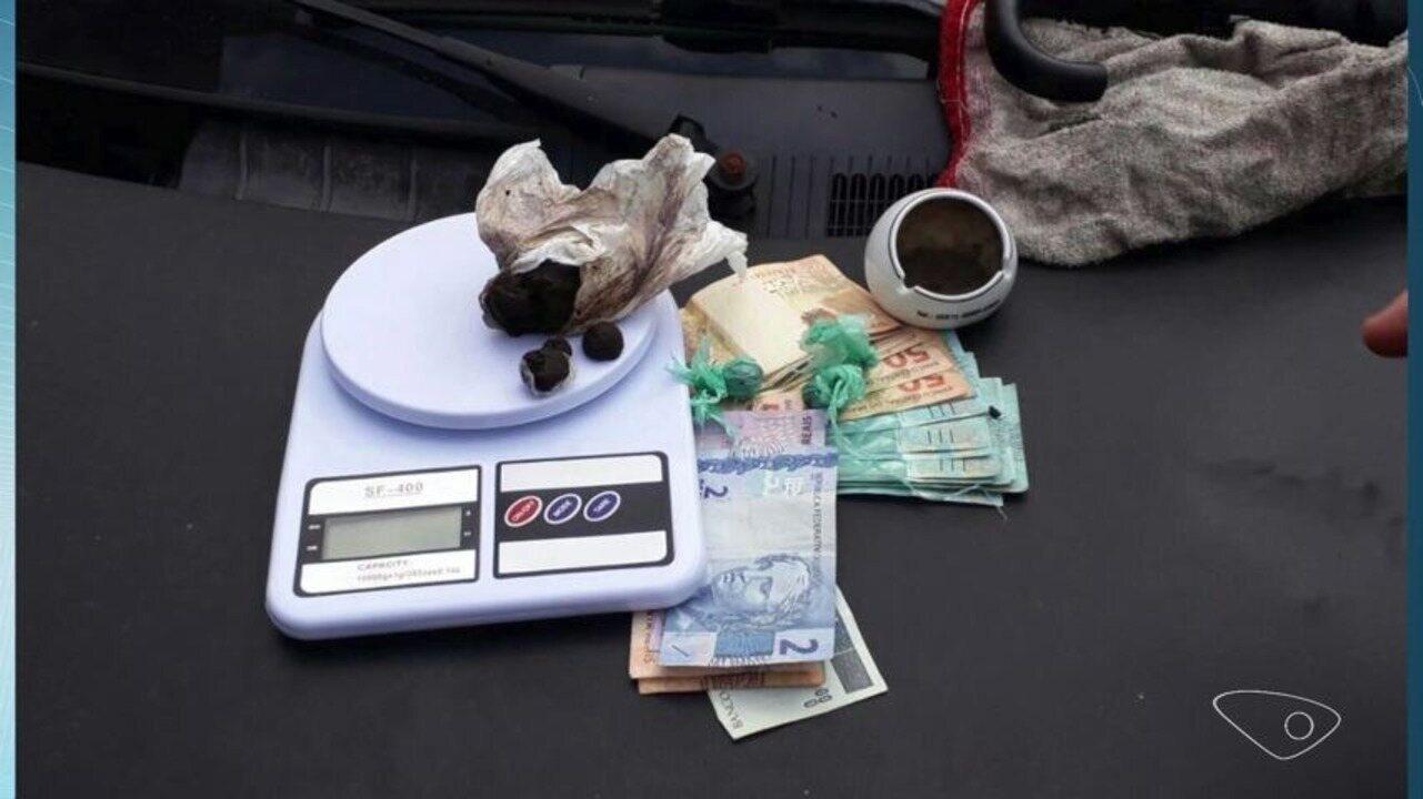 Quatro pessoas são detidas com drogas durante operação em Jardim Camburi, Vitória