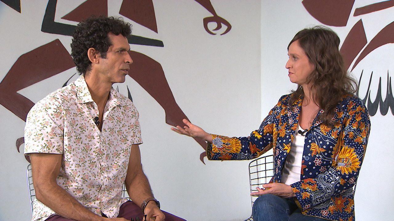 A jornalista e cineasta Amaranta Cesar ressalta a importância da arte na formação social