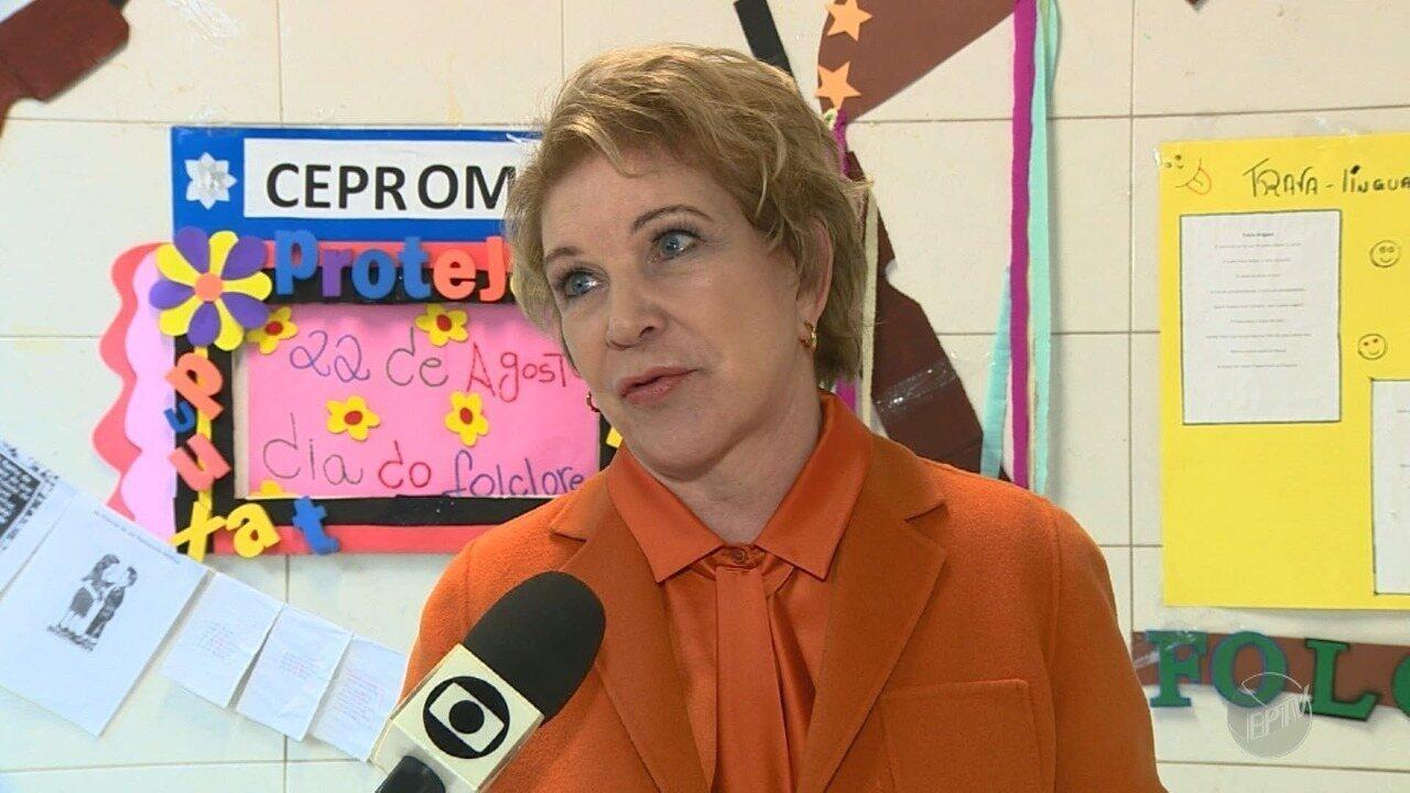 Senadora Marta Suplicy esteve em Campinas, nesta sexta-feira