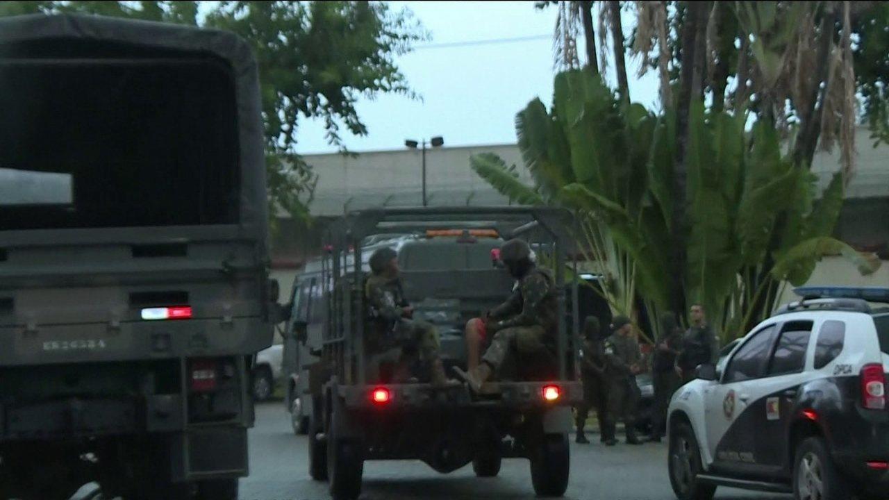 Forças Armadas fazem operação na zona norte do Rio