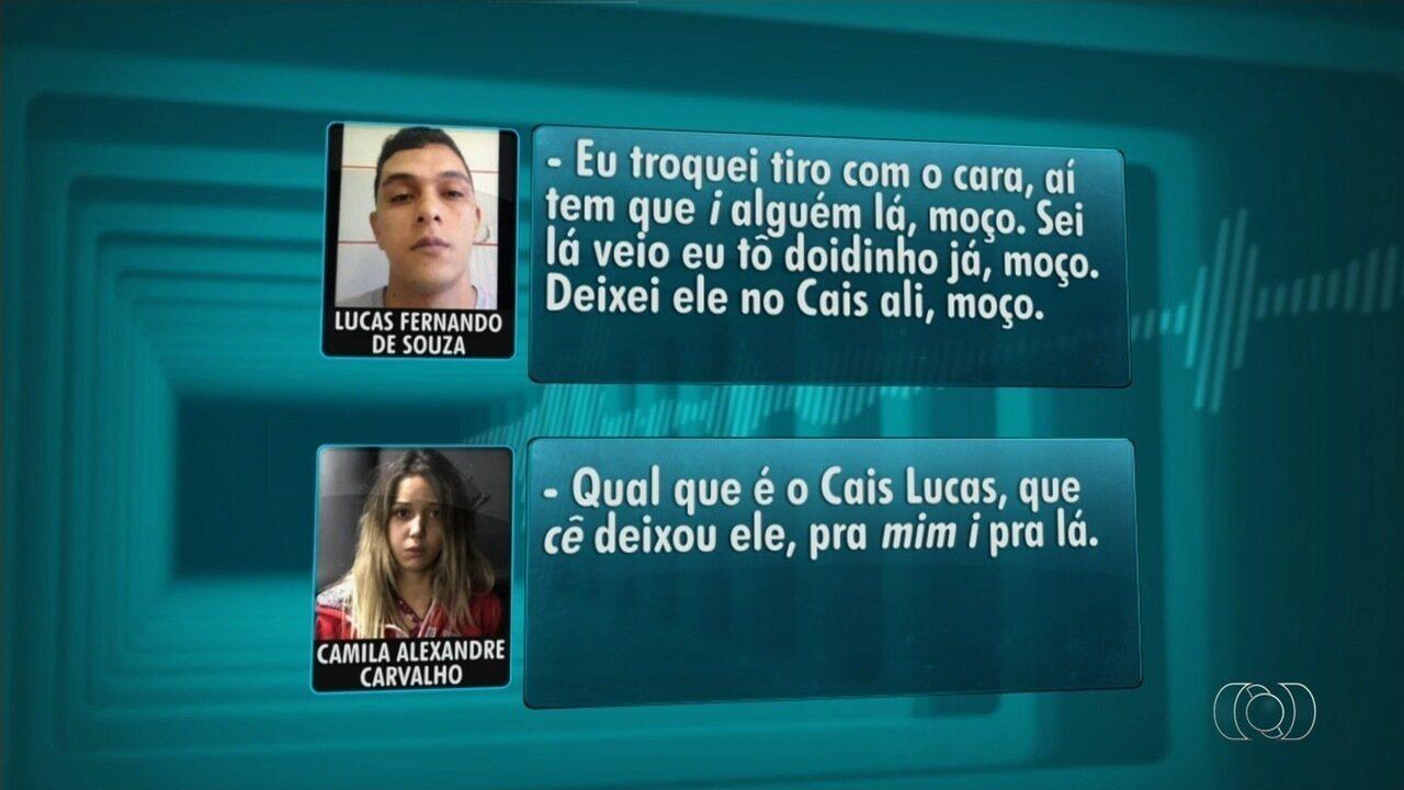 Em áudio, suspeito de trocar tiros com juiz Átila Amaral pede a namorada ajudar comparsa