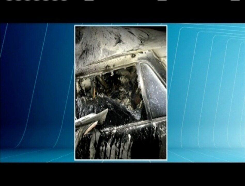 Casal de namorados morre carbonizado em acidente na BR-116
