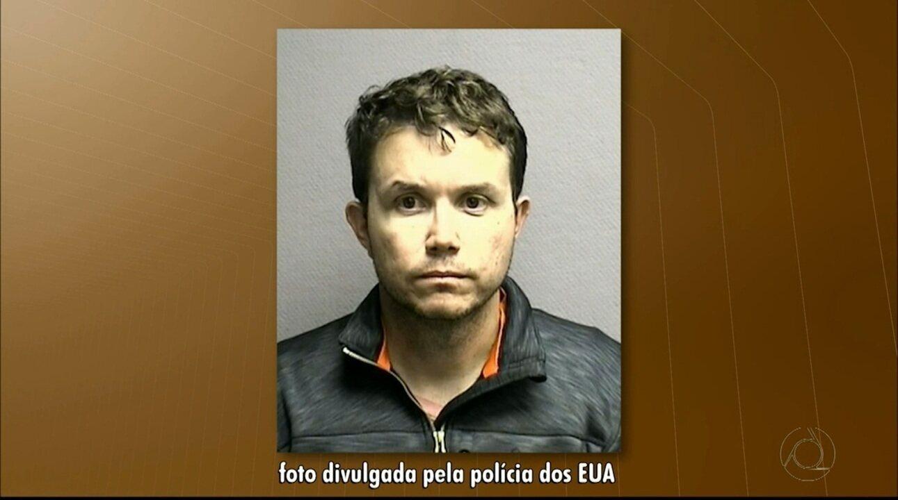 Paraibano é preso nos Estados Unidos suspeito de estuprar e abusar sexualmente de criança
