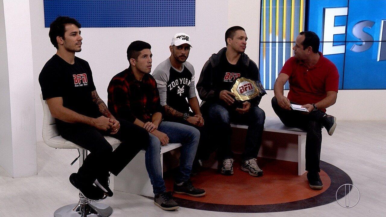 Atletas profissionais de MMA do Brasil e Argentina estarão em Búzios neste fim de semana
