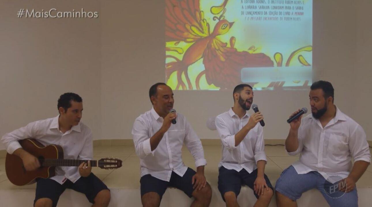 Grupo musical de Campinas (SP) mistura música com literatura