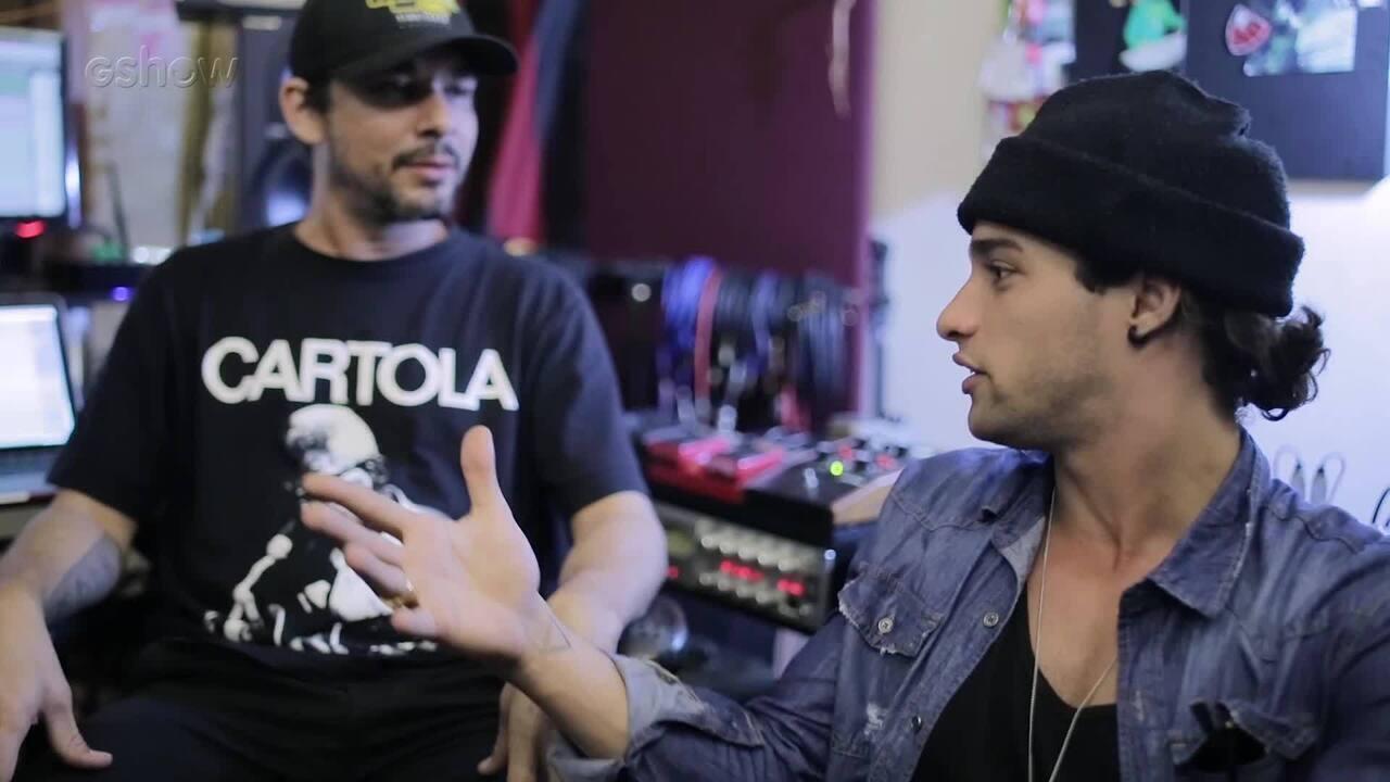 Pablo Morais mostra o processo criativo para a gravação de seu EP 'Treta'