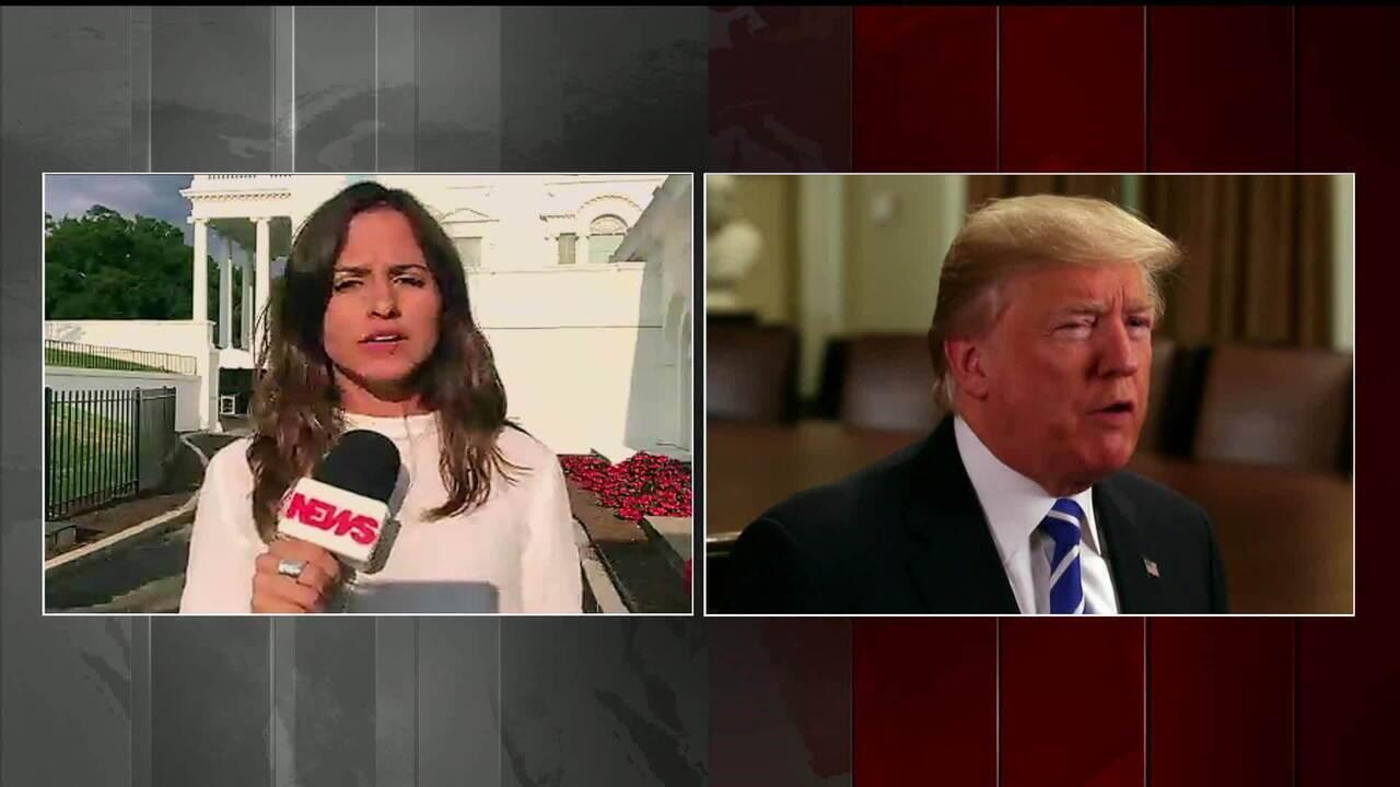 Trump assina ordem executiva adotando novas sanções financeiras contra a Venezuela