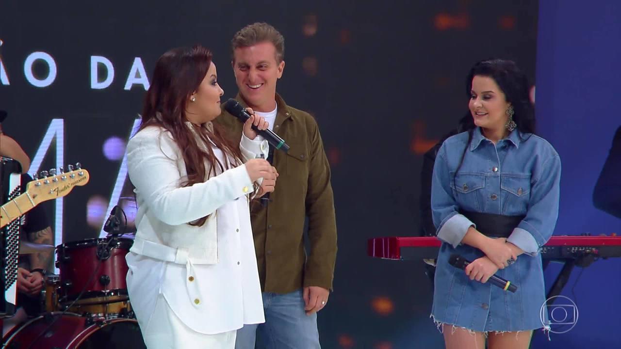 Maiara e Maraísa mostram pegadinha que fizeram no show de Henrique e Juliano