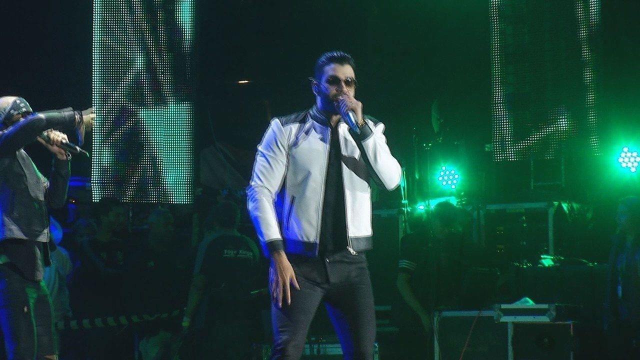 Na Festa de Barretos 2017, Gusttavo Lima canta