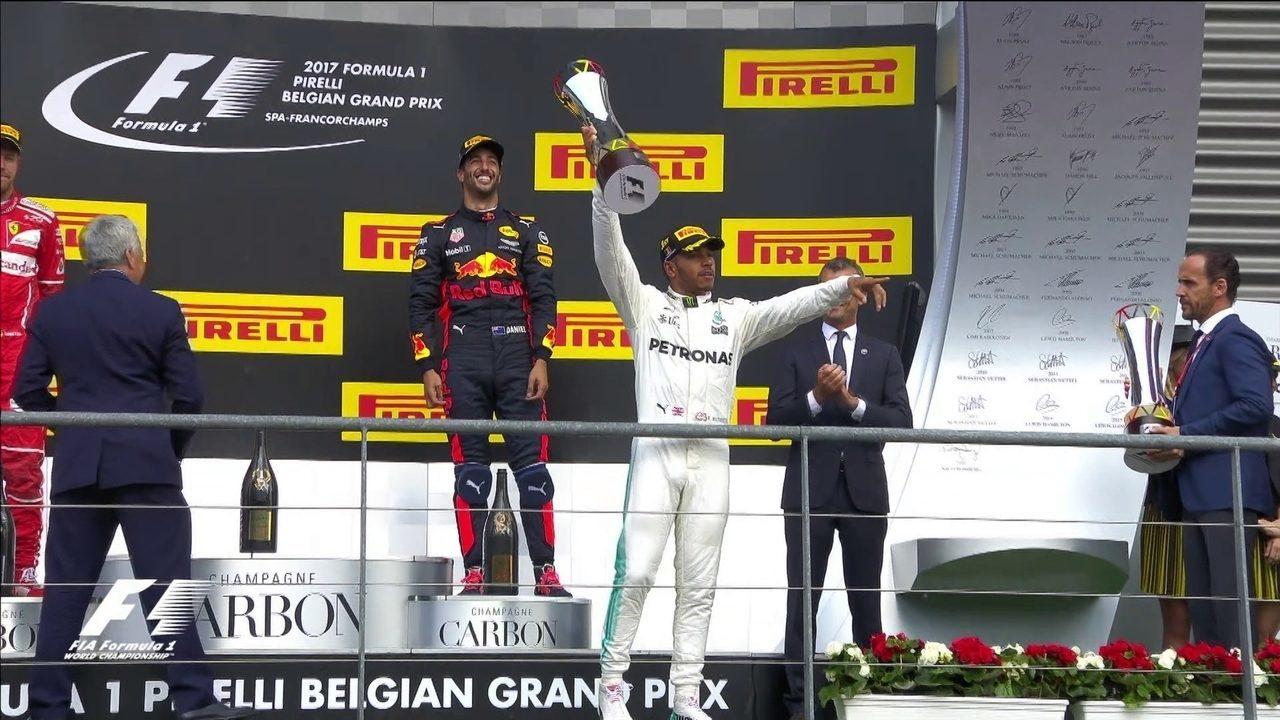 Melhores momentos do GP da Bélgica de Fórmula 1