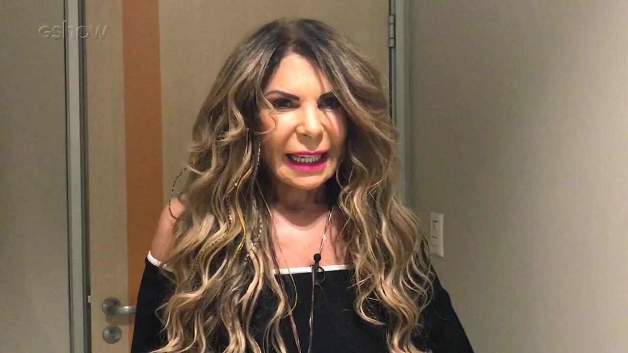 Elba Ramalho diz ignorar a fama para 'viver bem' nos bastidores do 'Conversa com Bial'