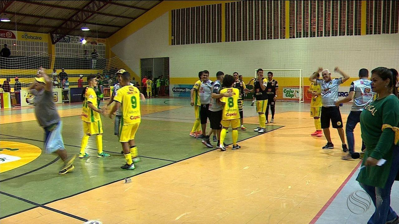 Seleção de Capela comemora aniversário da cidade com vitória sobre Lagarto na Copa TVSE
