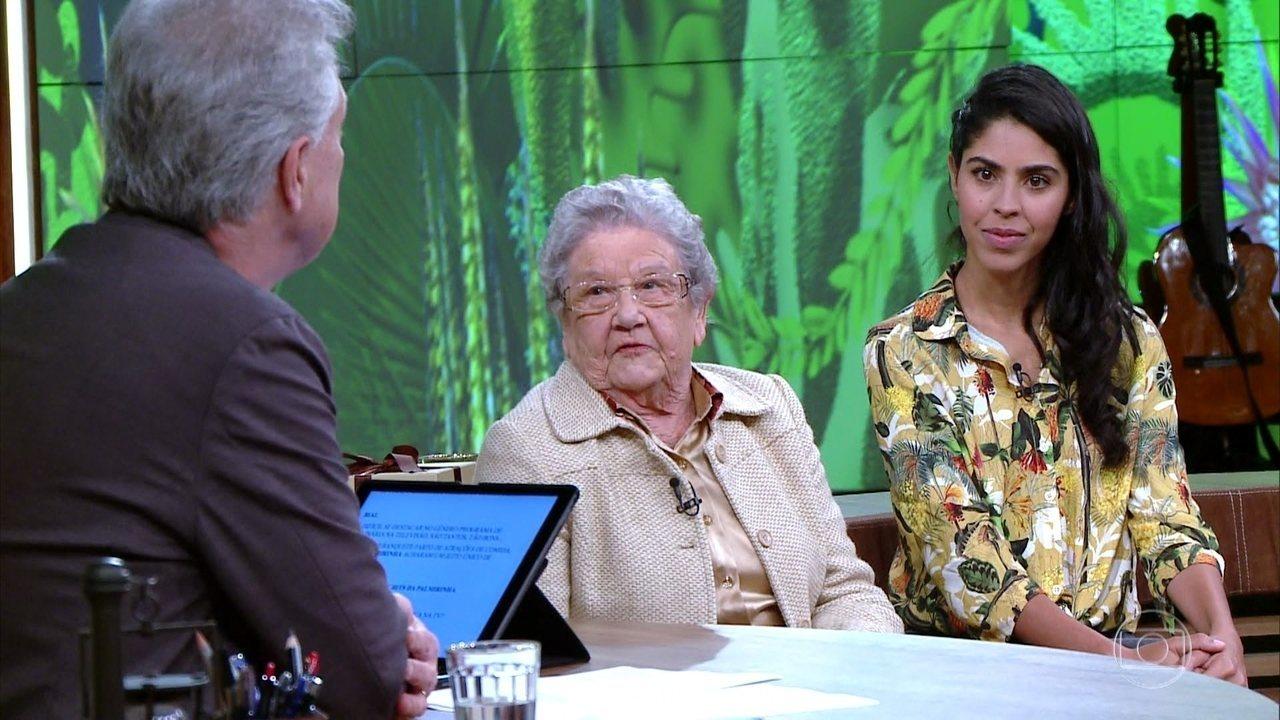 Palmirinha Onofre afirma que cozinhar foi sua libertação