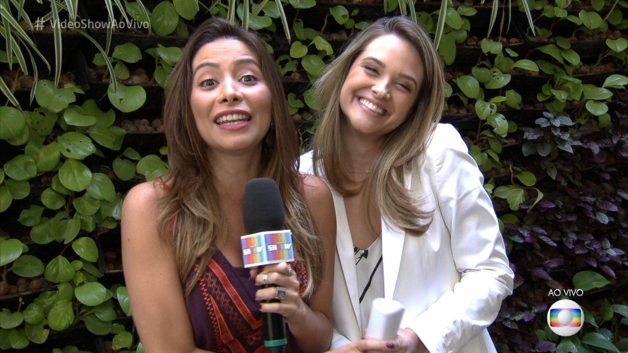 Juliana Paiva falou sobre a emoção da cena em que Ivana se revela trans