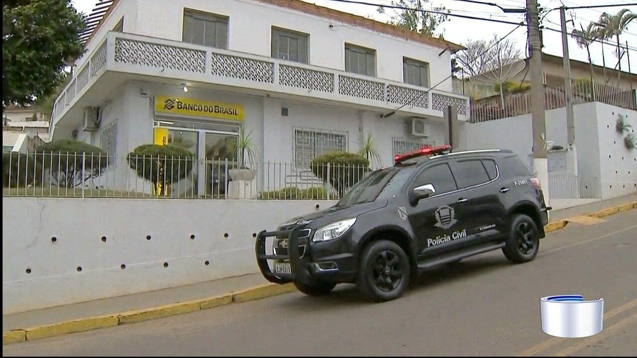 Bandidos armados assaltam agência bancária em Lagoinha