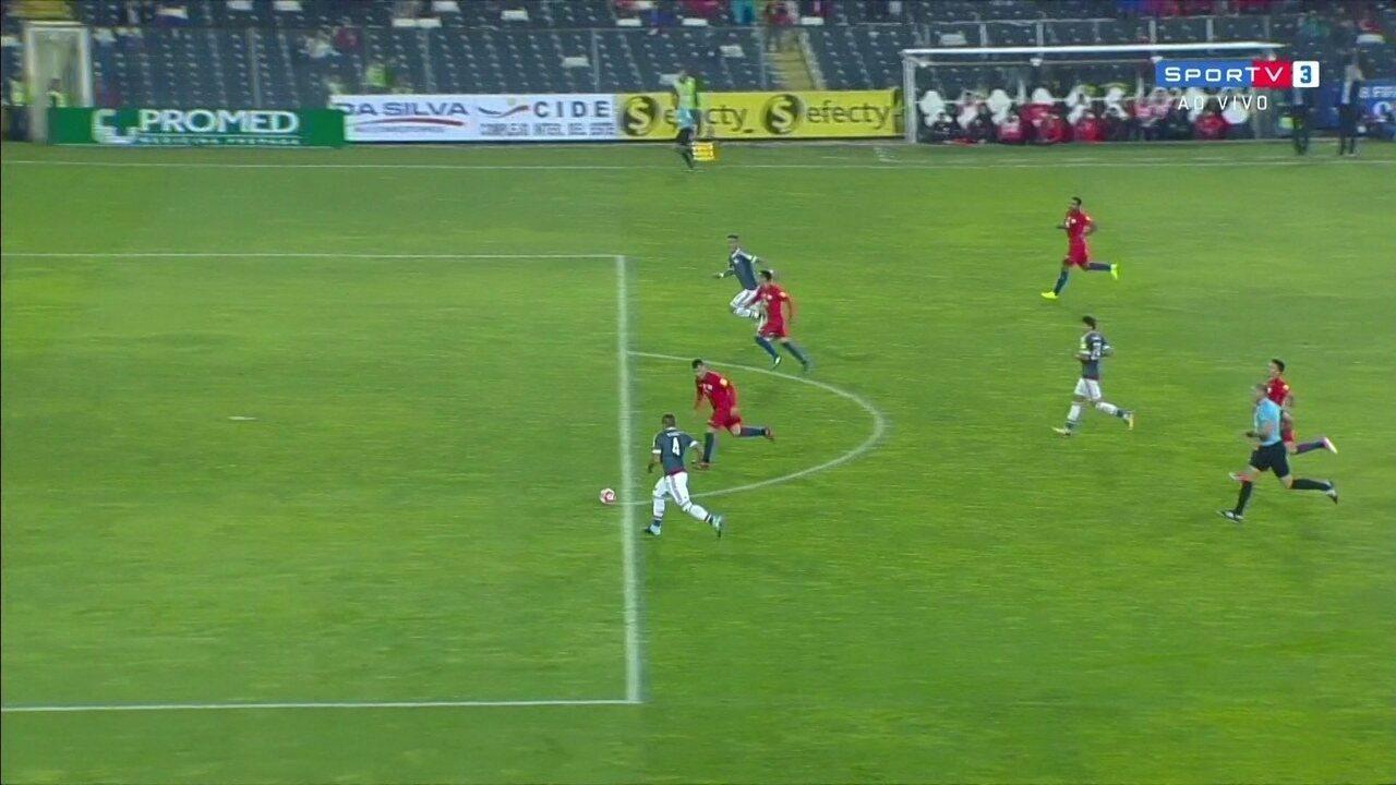 Melhores momentos de Chile 0 x 3 Paraguai pelas Eliminatórias Sul-Americanas da Copa 2018