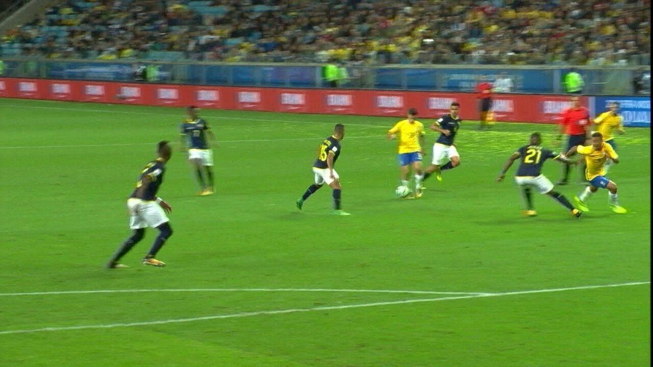 Melhores Momentos de Brasil 2 x 0 Equador pela 15ª rodada das Eliminatórias da Copa