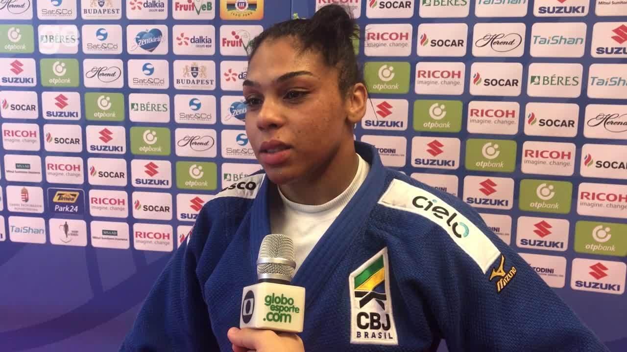 Samanta Soares fala de luta e primeira participação em Mundial adulto