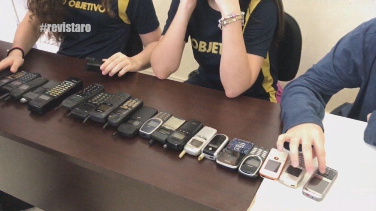 Parte 2:veja a evolução dos celulares e aprenda restaurar cadeia antiga