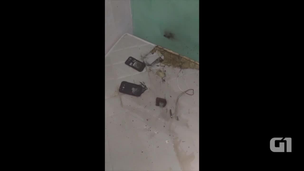 Explosão de celular provocou queimaduras de 2° grau em estudante de medicina